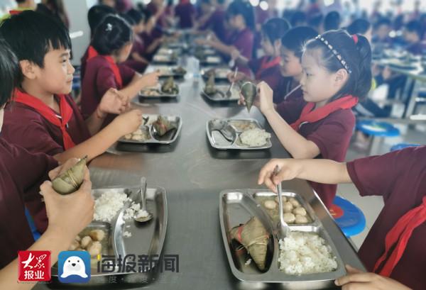 兴福镇中心小学开展端午节主题教育活动